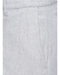 Theory | Gray 'zaine' Stretch Corduroy Pants for Men | Lyst