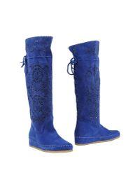 Suzie Mas - Blue Boots - Lyst