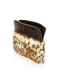 TOPSHOP | Brown Fur Tablet Case By Skinny Dip | Lyst