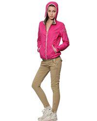 Colmar - Pink Lightweight Reversible Nylon Jacket - Lyst