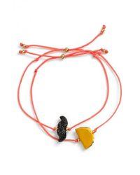 Venessa Arizaga | Orange 'hola Amigo' Bracelets | Lyst