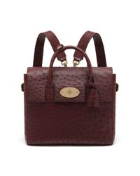 Mulberry - Red Cara Delevingne Bag - Lyst