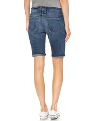 Current/Elliott - Blue The Bermuda Shorts - Atwater - Lyst