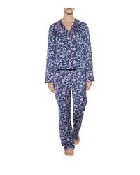 Juicy Couture - Blue Rose Pyjama Top - Lyst