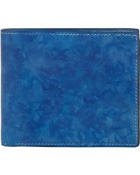 Bettanin & Venturi - Blue Leather Billfold - Lyst