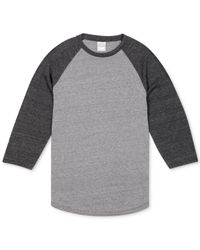Lucky Brand | Black Weekender Raglan T-shirt for Men | Lyst