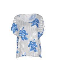 Leon & Harper - White T-shirt - Lyst