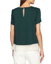 Catherine Malandrino | White Ree Layered-effect Top | Lyst