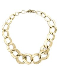 Vaubel | Metallic Chunky Oval Necklace | Lyst