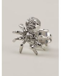 Wouters & Hendrix | White Diamond Spider Earring | Lyst