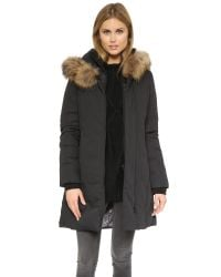 SOIA & KYO | Salma Down Coat - Black | Lyst