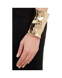 Jennifer Fisher Metallic Xl Crinkle Cuff