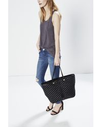 Rebecca Minkoff | Black Quilted Everywhere Tote | Lyst