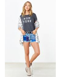 Truly Madly Deeply | Gray New York Tee | Lyst