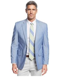 Lauren by Ralph Lauren | Blue Chambray Sport Coat for Men | Lyst
