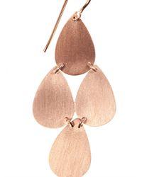Irene Neuwirth - Pink Rose-Gold Chandelier Earrings - Lyst
