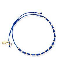 Astley Clarke   Blue Little Wonders Boy Skinny Bracelet   Lyst