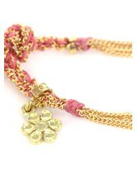 Carolina Bucci - Yellow Gold Friendship Bracelet - Lyst