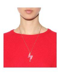 Marc By Marc Jacobs - Pink Debbie'S Bolt Necklace - Lyst