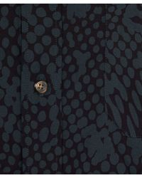 Paul Smith   Green Abstract Dot Shirt for Men   Lyst