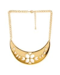 Forever 21 - Metallic Southwest Bound Cutout Necklace - Lyst