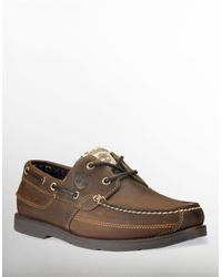 Timberland | Brown Kiawah Boat Shoe for Men | Lyst