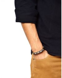 Chamula - Blue Concho Bracelet for Men - Lyst