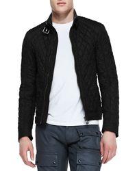 Belstaff - Black Bramley Quilted Jacket for Men - Lyst