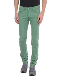 Roy Rogers - Green Denim Pants for Men - Lyst