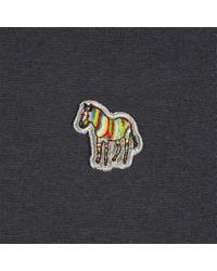 Paul Smith - Black Men's Navy Zebra Logo T-shirt for Men - Lyst