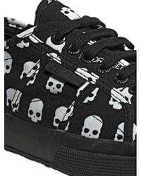 Hydrogen - Black Ltd Superga Cotton Canvas Sneakers for Men - Lyst