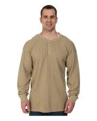 Carhartt | Natural Big & Tall Textured Knit Henley for Men | Lyst