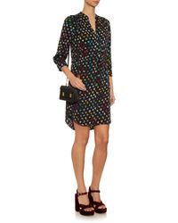 Diane von Furstenberg - Multicolor Freya Silk-Blend Dress - Lyst