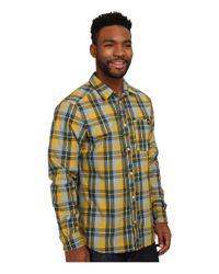 Adidas | Yellow Lumbercheck Shirt for Men | Lyst