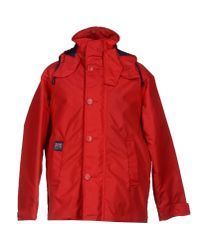 Henri Lloyd - Red Coat for Men - Lyst
