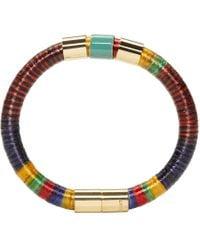 Isabel Marant - Multicolor Stripes Bracelet - Lyst