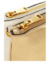 Miu Miu | Metallic Piccole Leather Shoulder Bag | Lyst