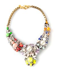 Shourouk | Multicolor Apolonia Necklace | Lyst