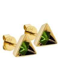 Ruifier - Green 'stella' Tsavorite Earrings - Lyst