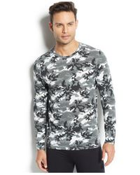 32 Degrees | Gray Weatherproof, Thermal Long Sleeve Crew for Men | Lyst