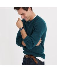 J.Crew - Blue Softspun Sweater for Men - Lyst