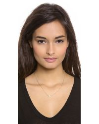 Jennifer Zeuner | Metallic Sasha Diamond Necklace | Lyst
