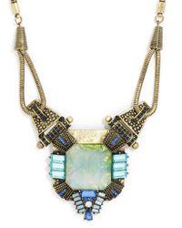 BaubleBar | Blue Lady Godiva Amulet | Lyst