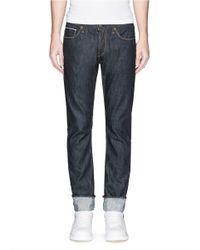 J Brand - Blue 'kane' Straight Leg Jeans for Men - Lyst