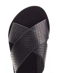 Ancient Greek Sandals - Thais Leather Sandals - Black - Lyst