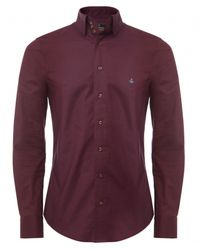 Vivienne Westwood - Red Three Button Shirt for Men - Lyst