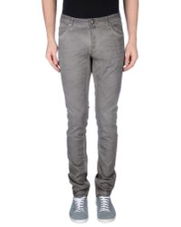 Tom Rebl | Gray Casual Trouser for Men | Lyst