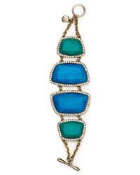 Carolee | Blue Barcelona Baubles Bracelet | Lyst