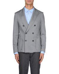 Lanvin - Gray Blazer for Men - Lyst