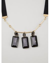 Marni | Black Horn Necklace | Lyst